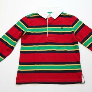 Polo Ralph Lauren Rugby Polo Shirt Size L(14/16)